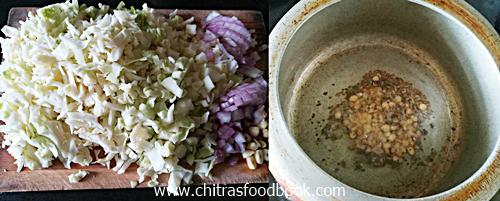 Cabbage masala recipe