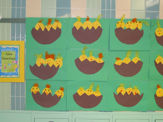 Our Chicks Are Hatching. - First Grade Roars!