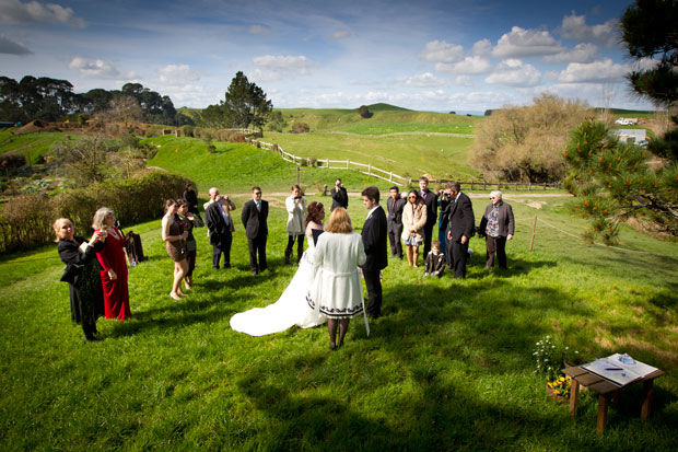Hobbiton new zealand wedding