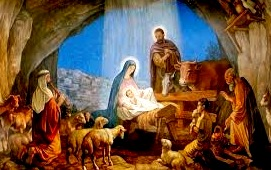 Nacimiento de Jesús en Navidad