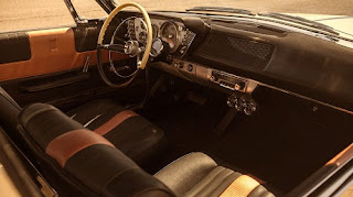 1963 Plymouth Sport Fury Convertible Dashboard