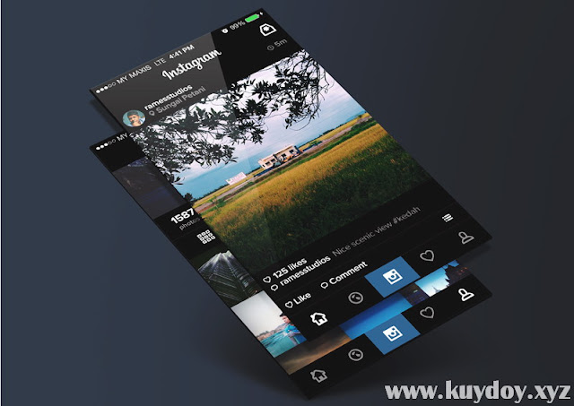 Cara Mengganti Background Instagram Android Tanpa Root