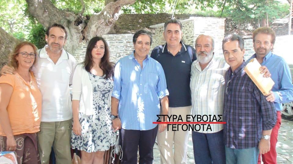Επίσκεψη του Αλγερινού πρέσβη στο Στέκι των Δειπνοσοφιστών στα Στύρα