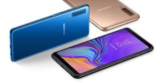 Cara Hard Reset Samsung Galaxy A7 2018 kurang 1 Menit