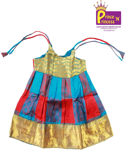 new born silk frock pattu pavadai