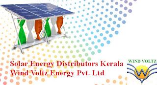 Solar Energy Distributors Kerala