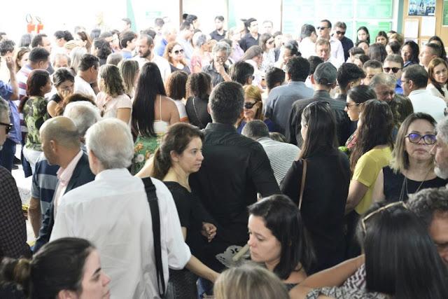 O enterro dos médicos mortos em acidente de helicoptero rosario-ma 2018