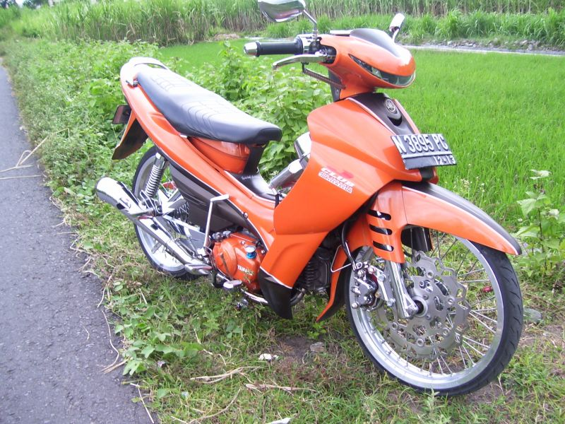 Modifikasi Motor Yamaha Jupiter Z