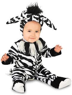 Zany Zebra Infant Costume for Halloween