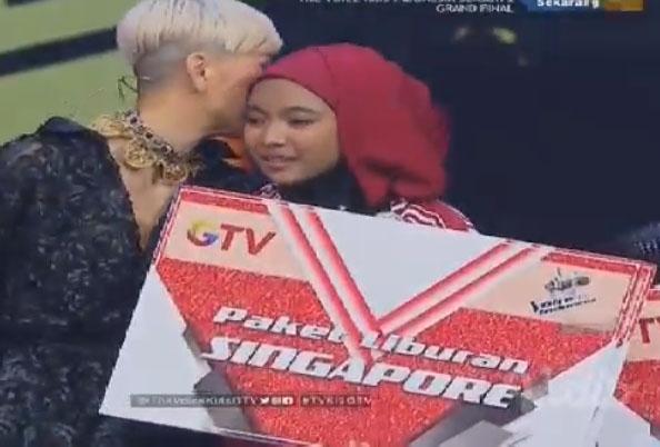 sharla Juara Pemenang The Voice Kids Indonesia 2017
