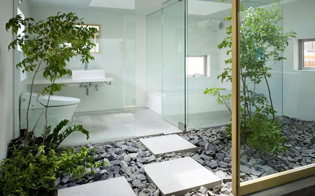 Marzua viviendas con jard n interior for Jardin vertical interior casa