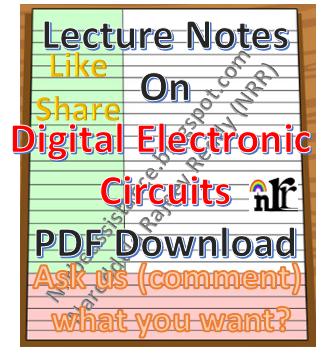 digital electronic circuits notes pdf downloadElectronic Circuit Notes Pdf #13
