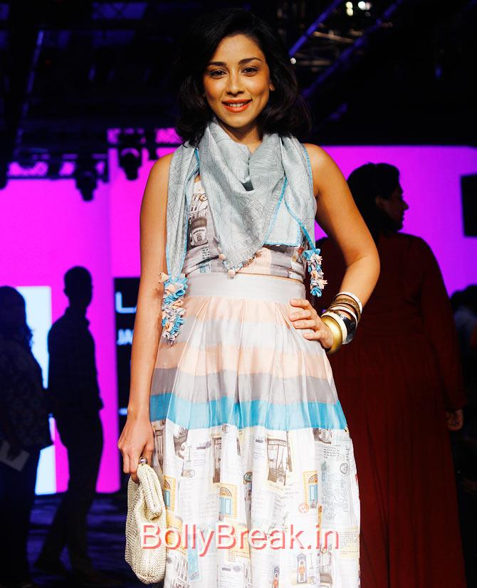 Amrita Puri, Bollywood Celebs Pics from Lakme fashion Week 2015 Day 3