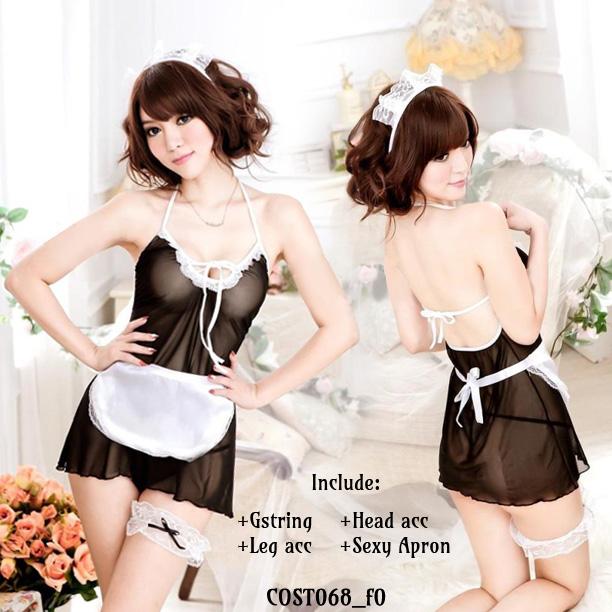 Jual Lingerie Seksi Kostum Maid (COST068) Produk Import 100% Berkualitas Terbaik Nyaman dipakai dengan Harga Grosir dan Ecer Termurah.