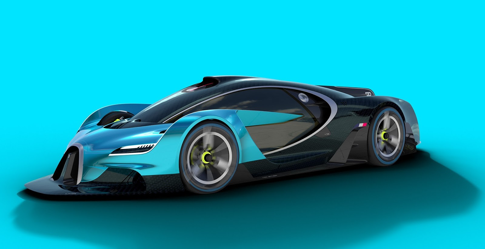 bugatti study makes the chiron seem bland carscoops. Black Bedroom Furniture Sets. Home Design Ideas