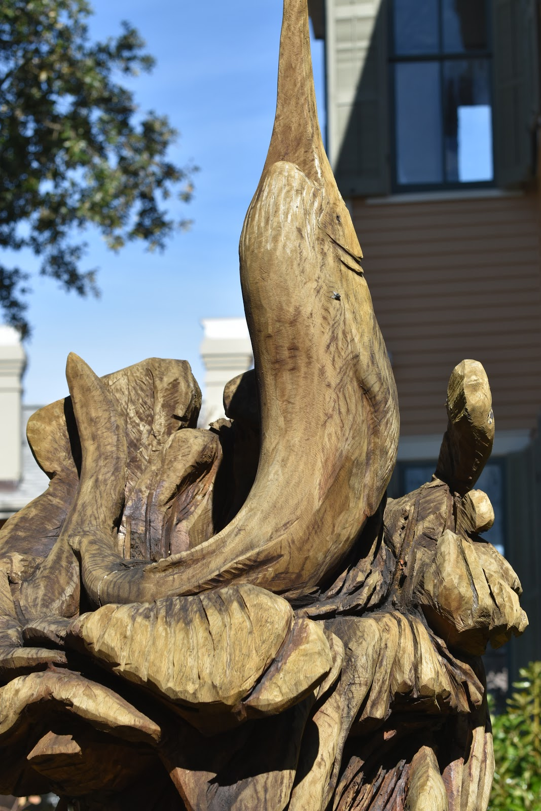 Good times rollin tree sculpture tour