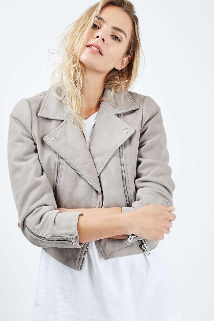 grey suede jacket, topshop suede jacket,