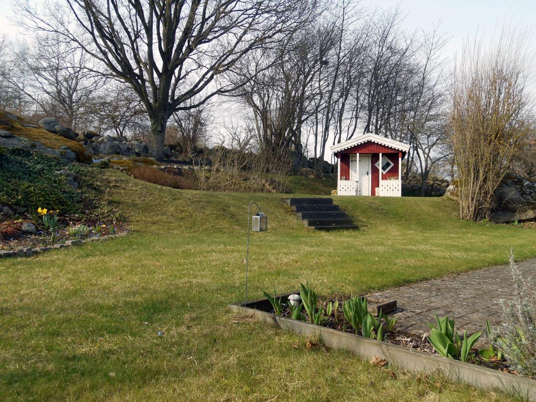 Il giardino, 1 aprile 2017