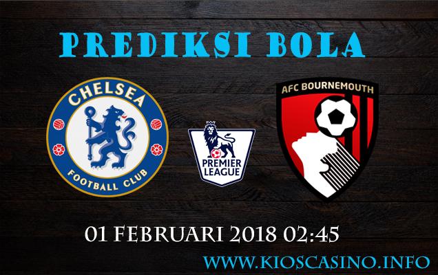 Prediksi Bola Chelsea vs Bournemouth 01 Februari 2018