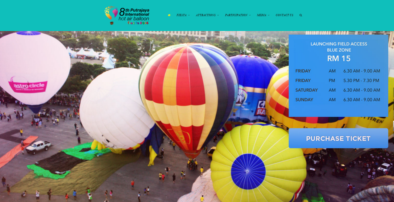 PUTRAJAYA HOT AIR BALLOON FIESTA 2016