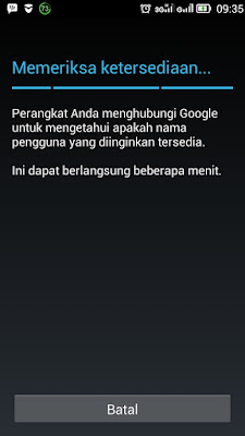 Daftar Email Gmail Indonesia di Hp Android Lengkap