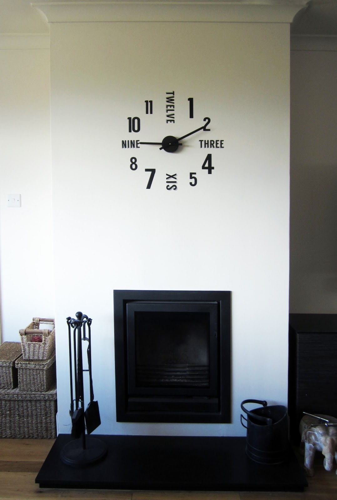 Crafting quine vinyl wall clock shadow tool i purchased a good quality clock mechanism which claimed correctly to be silent cheaper versions come with a loud tick which i didnt want amipublicfo Image collections
