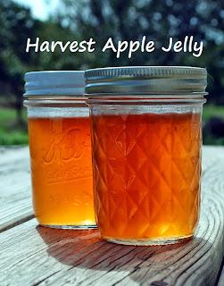 Harvest apple jelly