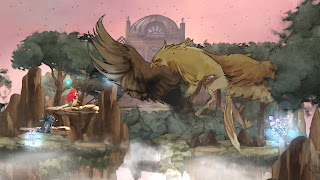 Child of Light combat contre un boss