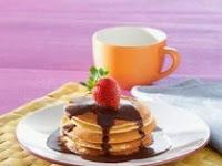 Resep Mudah Membuat Pancake Saus Coklat Paling Enak