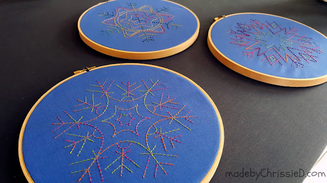 My Sashiko Designs by www.madebyChrissieD.com