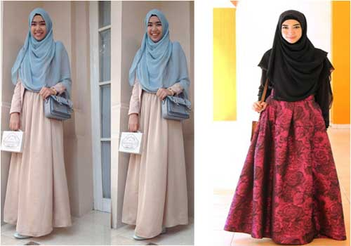 Model Baju Hijab Syar'i Non Formal