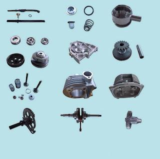 Suzuki Kawasaki Harley Davidson Motorcycle Engine Parts