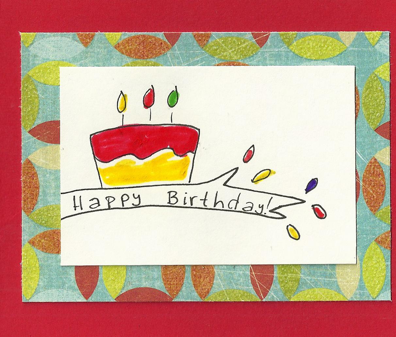 Debbie Dots Greeting Card Blog: Whimsy Tree Birthday