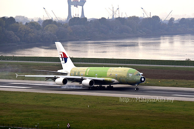MAS Airbus A380