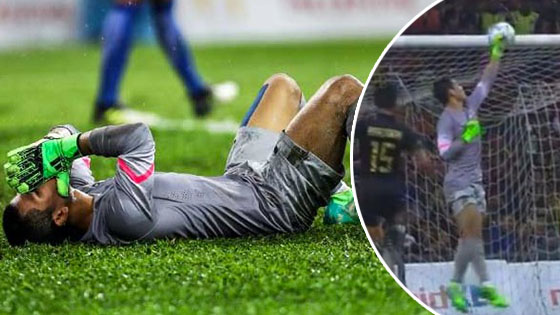 Respon Haziq Nadzli, Penjaga Gol Malaysia Setelah Jaring Gol Ke Gawang Sendiri