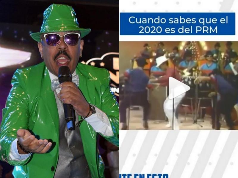 Aramis Camilo podría demandar al PRM por utilizar su imagen en campaña