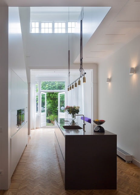 Herringbone Parquet Was Used In This Dutch Townhouse Renovation By Antonia Reif 2