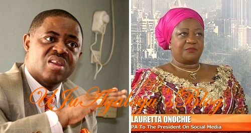 """You need a brain transfer and a comprehensive face-lift"" – FFK Shades The Heck Out Of Presidential Aide, Lauretta Onochie"