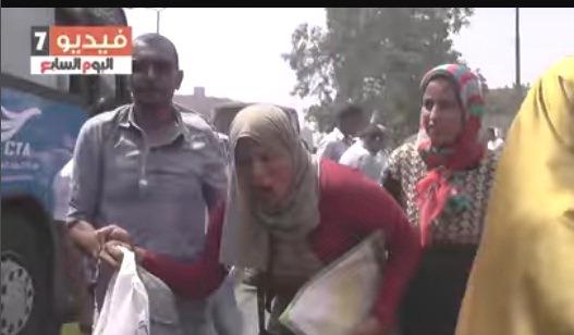 أحداث عنف واغماءات على بوابة مدرسة السعيدية اليوم بين المتقدمين لمسابقة الشهر العقارى