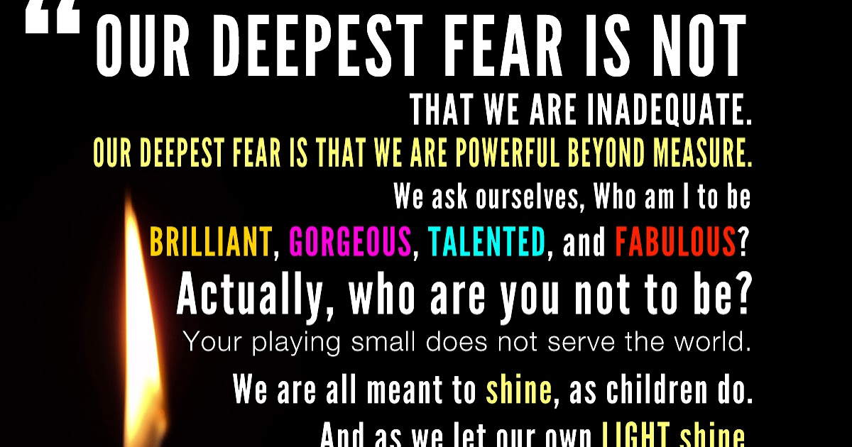 That Weird Thing  What is your DEEPEST FEAR?