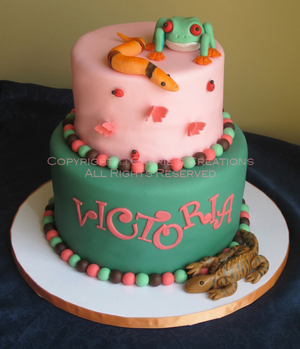 Blog Reptile Birthday Cake