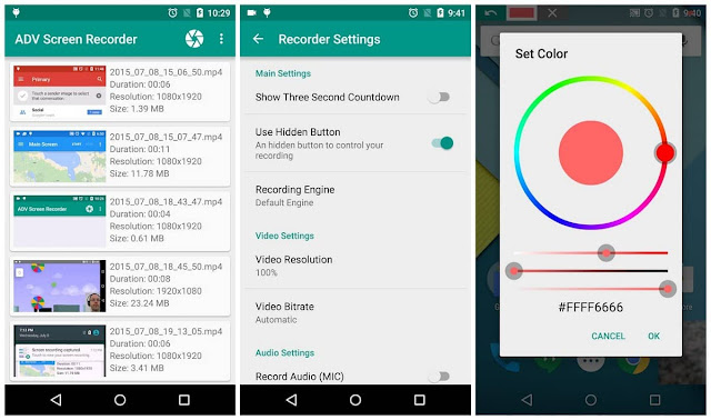 ADV Screen Recorder pro apk free download