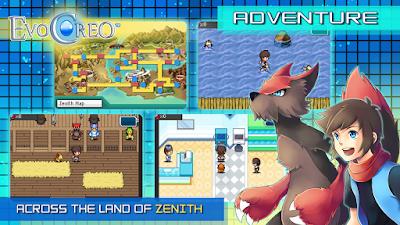 Screenshot EvoCreo adventure