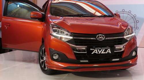 Review Daihatsu Ayla Facelift