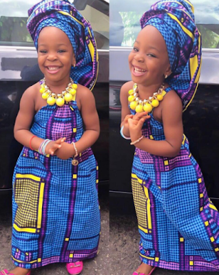 Check Out Chacha Eke's birthday daughter (Photos)