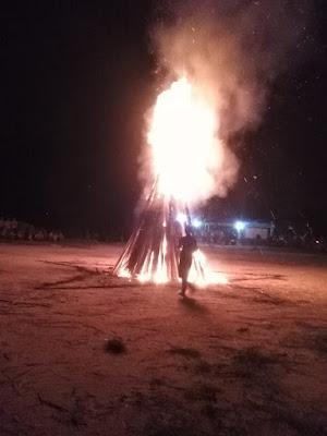 Api unggun perjusa pondok modren aljauhar