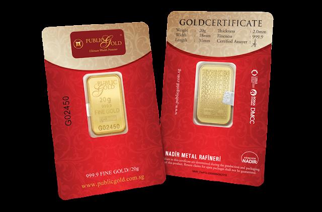 Gold Bar 20gram