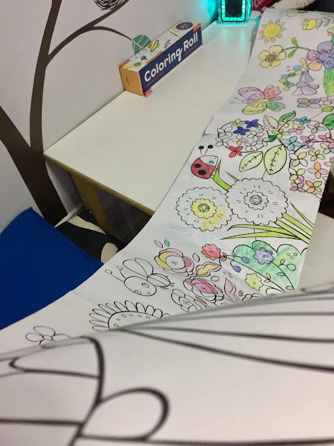 Mudpuppy Coloring Rolls