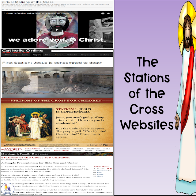 Four multimedia websites: Stations of the Cross