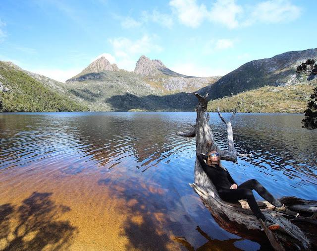 Randonnee a Cradle Mountain Tasmanie